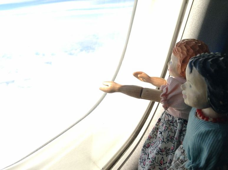 Ima's First Flight